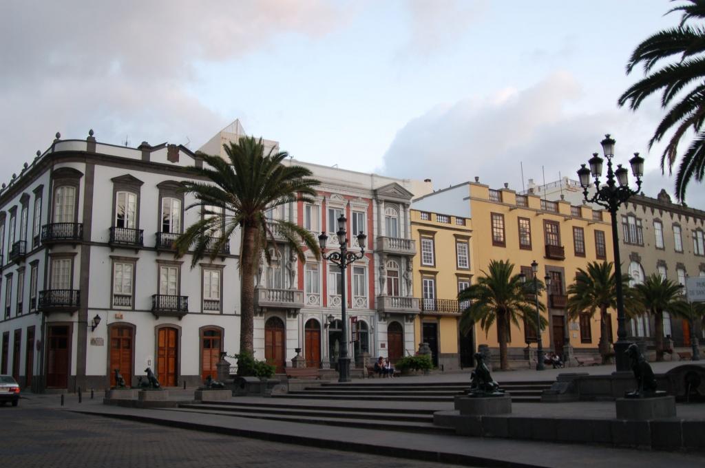 Исторический центр городаЛас-Пальмас-де-Гран-Канария