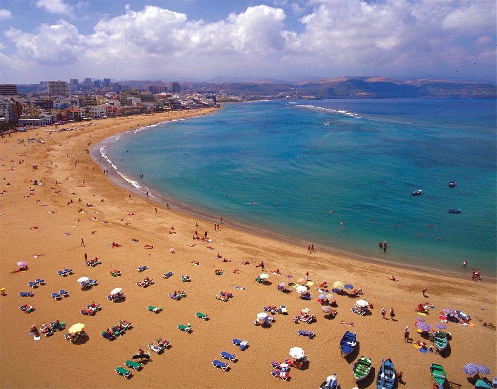 Пляжи Лас Пальмас де Гран Канария