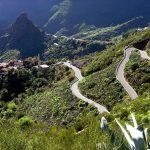 Дорога, ведущая в деревню Маска