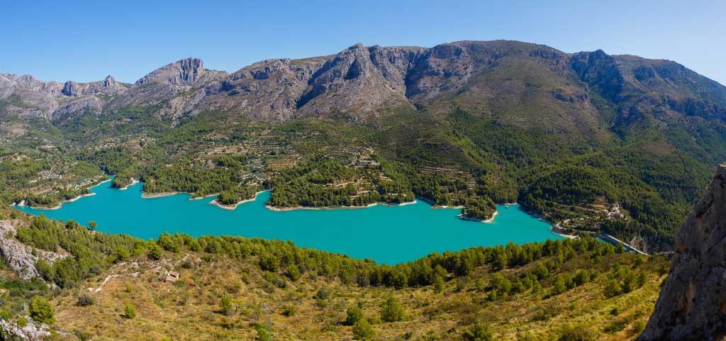 Озеро Гуадалеста