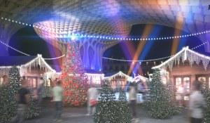рождественский тематический парк в Севилье SetasNoche_planB-1-1