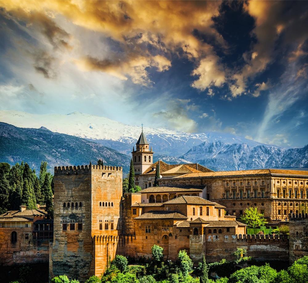 Альгамбра-Гранада
