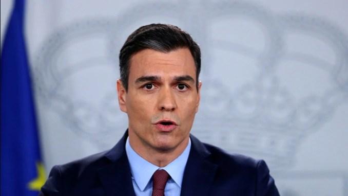 Глава испанского правительства Pedro Sánchez (REUTERS-Sergio Perez)