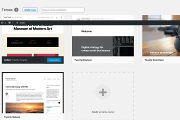 Como cambiar la apariencia de tu sitio WordPress