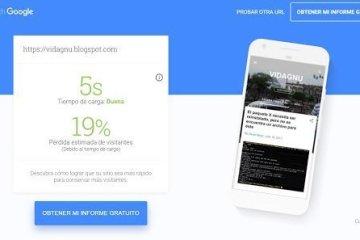 Prueba la velocidad de tu sitio con Test My Site de Google