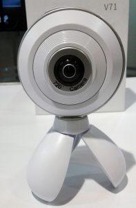 Câmera que produz fotos e vídeos em 720° chega ao Brasil