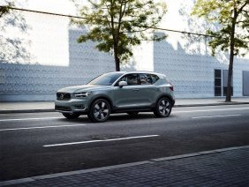 Volvo revela novo XC40 em loja de design escandinavo em Milão, na Itália