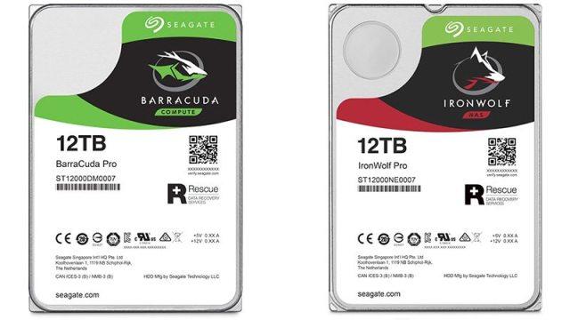 Seagate expande portfólio da série guardiões para HDs de 12 TB