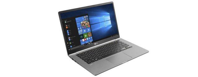 Novo notebook LG Gram