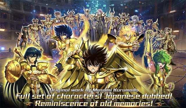 Novo game de Cavaleiros do Zodíaco, Saint Seiya: Galaxy Spirits chega ao Android