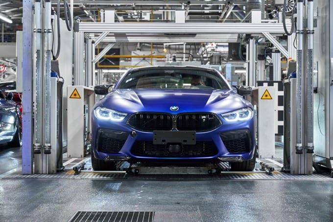 BMW Série 8 M8 Competition Coupé 38