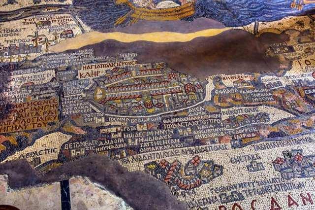 Conheça Madaba, a cidade dos mosaicos