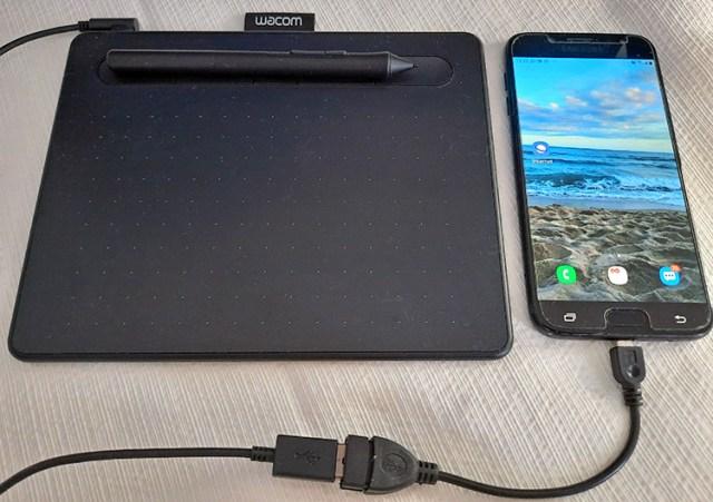 Wacom agora se conecta com dispositivos Android
