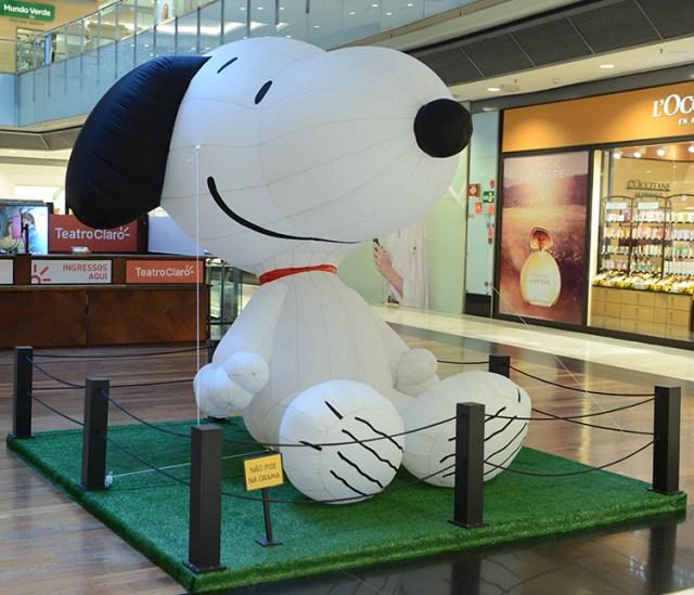 Turma do Snoopy chega para o Mês das Crianças em Shopping de São Paulo