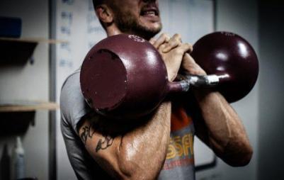 El CrossFit movimientos funcionales