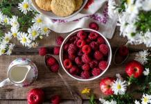 vitaminas antioxidantes frambuesas