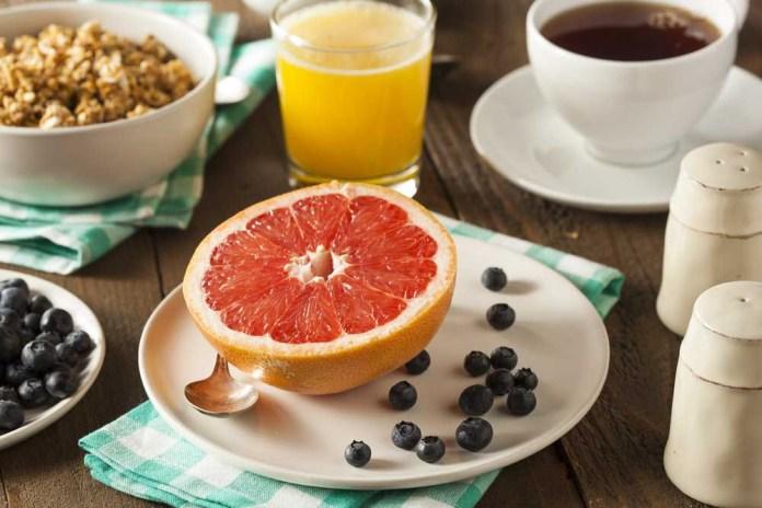 frutas de fibra