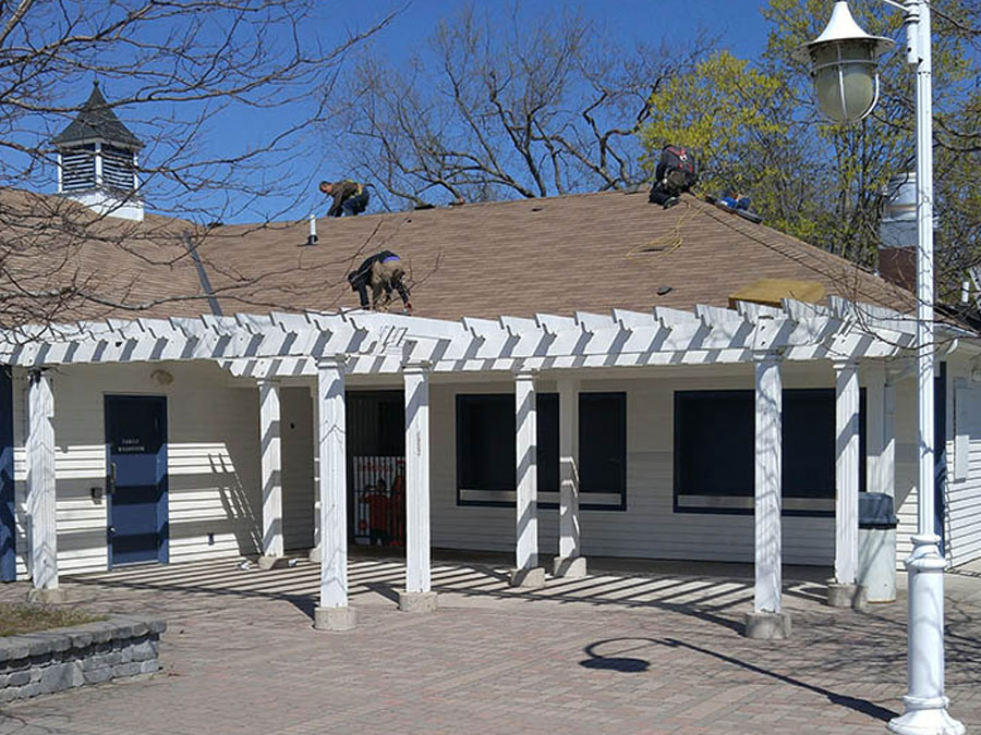 Commercial roofing by Vidan Roofing - a roofing contractor specializing in residential & commercial roofing in Cobourg and Port Hope