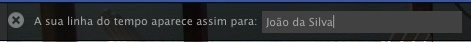 Facebook - Linha do Tempo 08