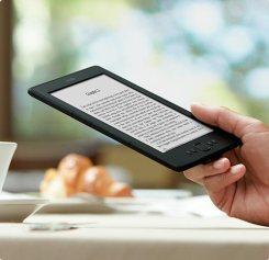 Lendo com Kindle