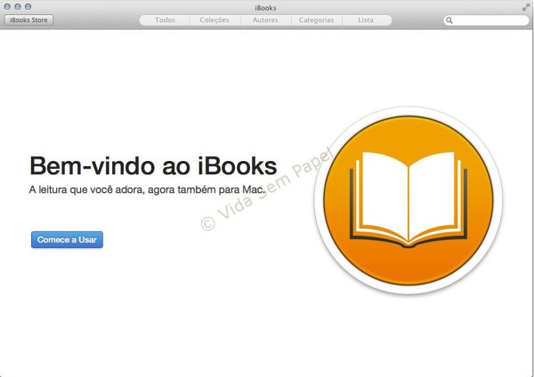 iBooks no OS X Mavericks - 01