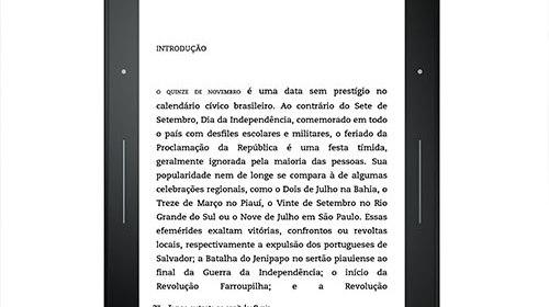 Kindle Voyage e Novo Kindle Paperwhite chegam ao Brasil