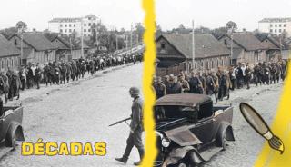 decadas_columna_de_prisioneros_sovieticos_capturados_cerca_de_minsk_bielorusia_julio_1945
