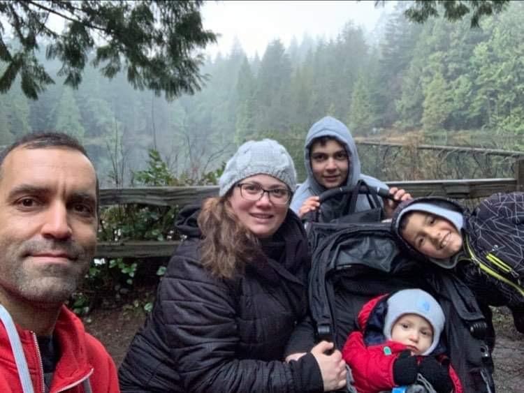 Dia da Família (FAMILY DAY) em British Columbia, Canada