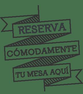 welcome banner reservas Vida&Comida
