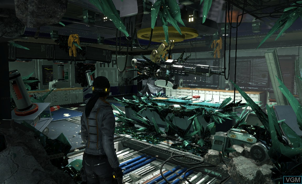 hight resolution of in game screen of the game fuse on microsoft xbox 360