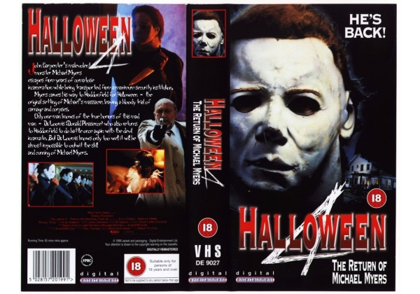 The return of michael myers (1988) region code 1 (usa) on a dark halloween night ten years ago, michael myers brought fear back to his home. Halloween 4 The Return Of Michael Myers 1988 On Digital Entertainment United Kingdom Vhs Videotape
