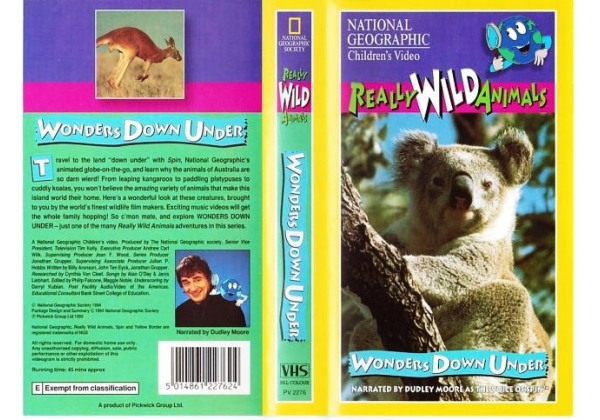Really Wild Animals 1997on National Geographic United