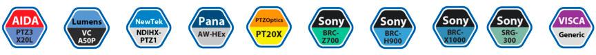 Skaarhoj-PTZ-Fly-compatibilidad