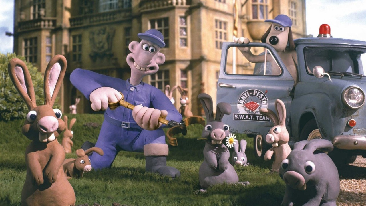 Wallace & Gromit, le mystère du lapin garou – Nick Park & Steve Box
