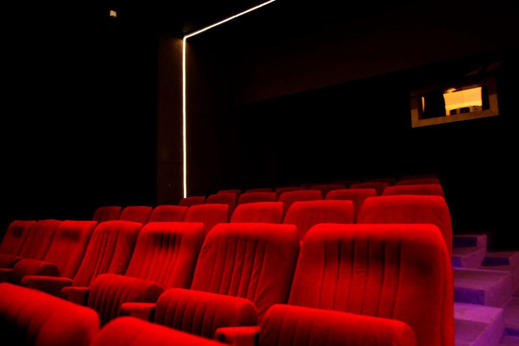 La salle de cinéma de Videodrome 2 à Marseille