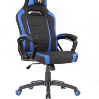 N Seat PRO 300 Series Racing Bucket Seat Office Chair With Pillows, 360 degrees rotation (Black/Black)
