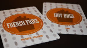 Shawn Pierre's bluffing card game, These French Fires Are Terrible Hot Dogs was developed at PDN