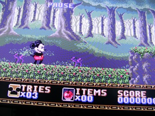 Castle of Illusion (Sega Genesis)