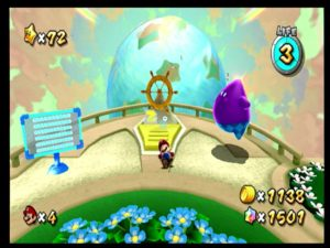 Screenshot from the Wii (component) with the PEXHDCAP