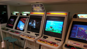 Rugdoctor's room features a variety of classic arcade games.