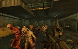 Killing Floor is one game we couldn't get surround sound working on unless we booted back to XP.