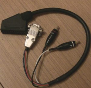 SCART to VGA cable