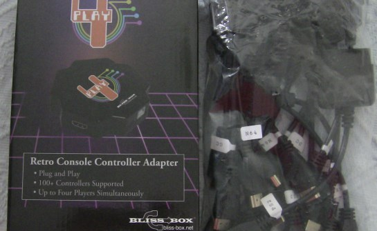 4-play controller adapter basic kit