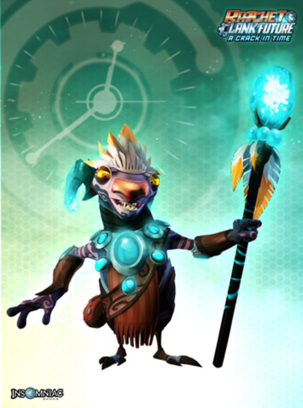 Ratchet And Clank Future A Crack In Time Characters List