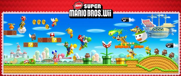 World Super Bros Star New 2 Mario Coins U