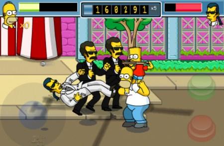 the simpsons arcade screenshot iphone - Game Review: jogos viciantes para o iPhone