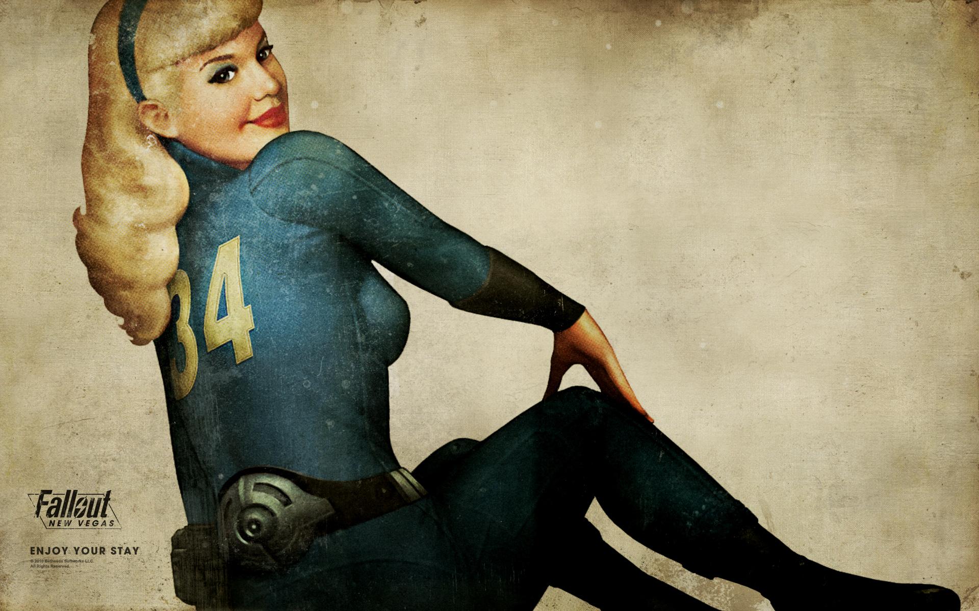 Grand Theft Auto Wallpaper Girl Fallout New Vegas Wallpaper