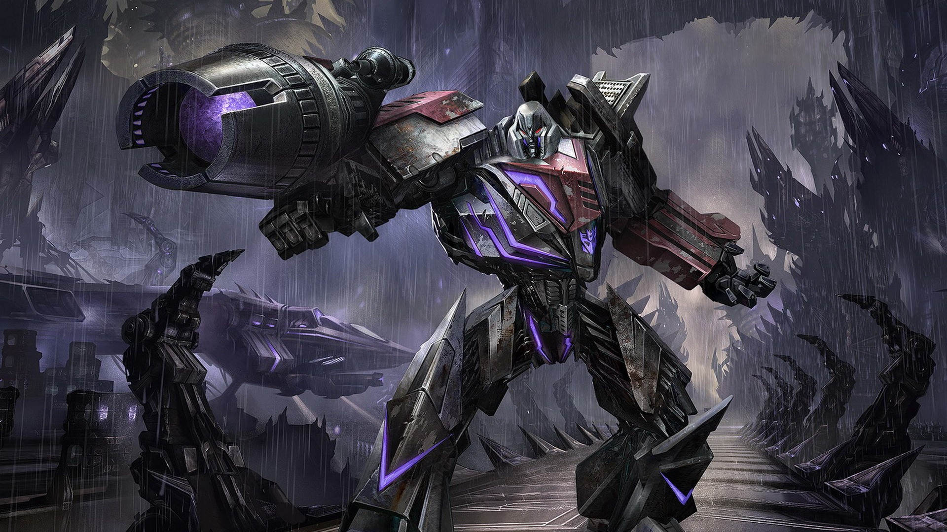 Fall Of Cybertron Wallpaper Hd Transformers Fall Of Cybertron Megatron Wallpaper