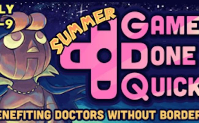 Summer Games Done Quick 2016 Live All Week