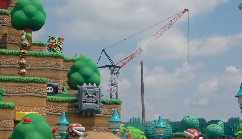 Construction begins on Nintendo Donkey Kong World theme park